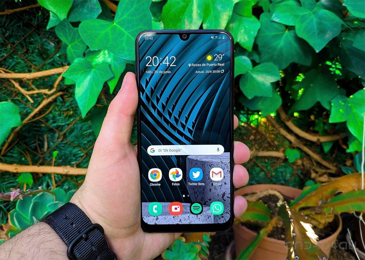 Lanceur Samsung Galaxy M31
