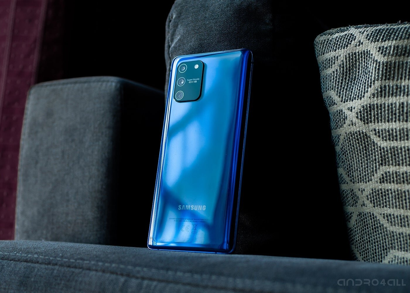 Samsung Galaxy S10 Lite, arrière