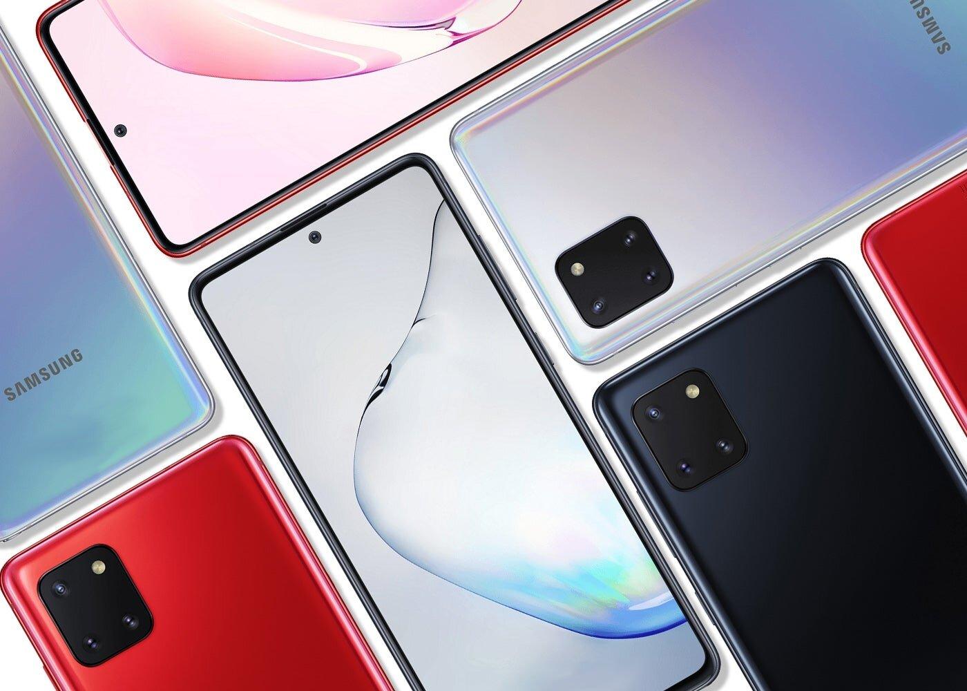 Samsung Galaxy S10 Lite et Note10 Lite