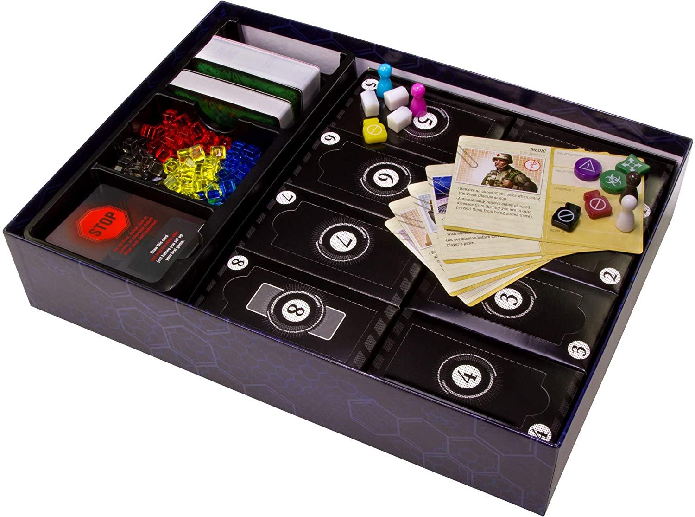 Boîte de jeu de société pour Pandemic: Legacy