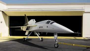 Boom Supersonic Testera Son Nouveau Jet Xb 1 Plus Rapide Que