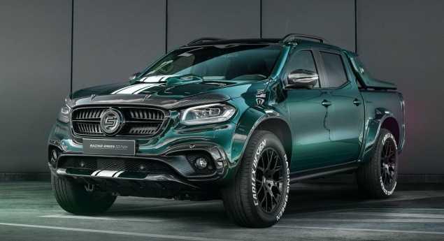 Mercedes Benz X Class Racing Green Est La Nouvelle Création De Carlex
