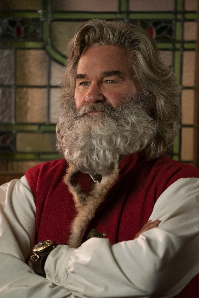 Kurt Russell comme père Noël