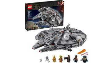 Le Millennium Falcon De Lego De 'star Wars: The Rise