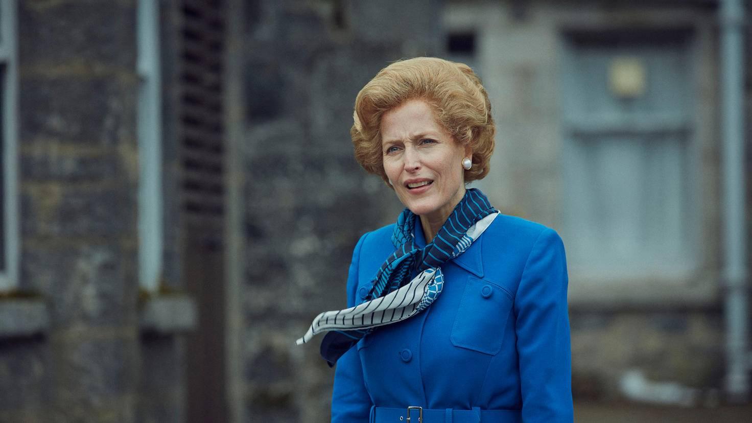 La Couronne Margaret Thatcher GILLIAN ANDERSON