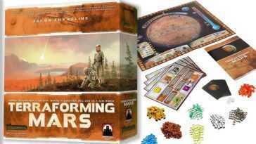 Le Jeu De Société Terraforming Mars Est Maintenant à 40%