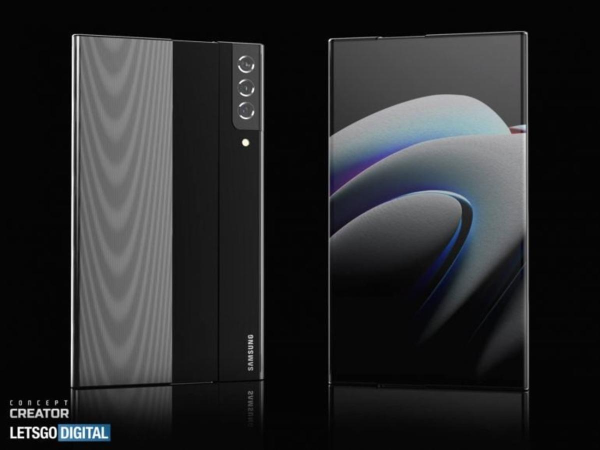Le mobile roll-up de Samsung, dans sa première récréation