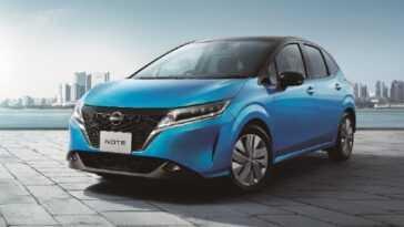 Aussi Déjà électrifié ... Et électrique. Nissan Révolutionne La Note
