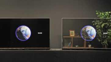 Les nouveaux OLED Panasonic sont transparents et résolvent le problème de la lumière: avec leur mode sombre, ils ne révéleront ce qu'il y a derrière que quand c'est intéressant