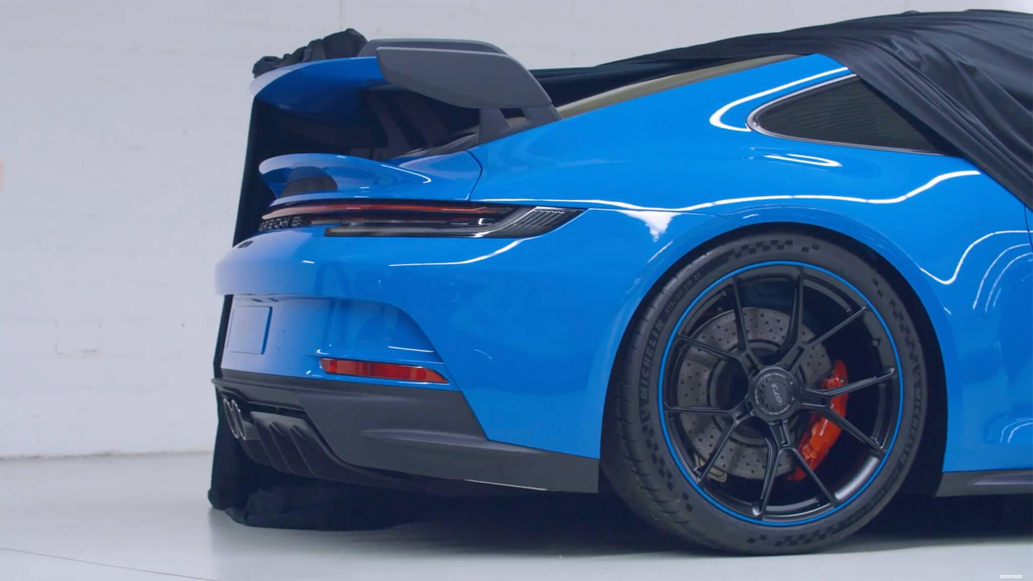 Teaser de la Porsche 911 GT3 2021