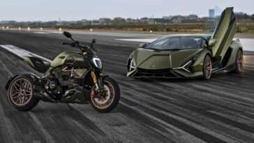 Lamborghini Sián Fait Ses Débuts Dynamiques Aux Côtés De Ducati