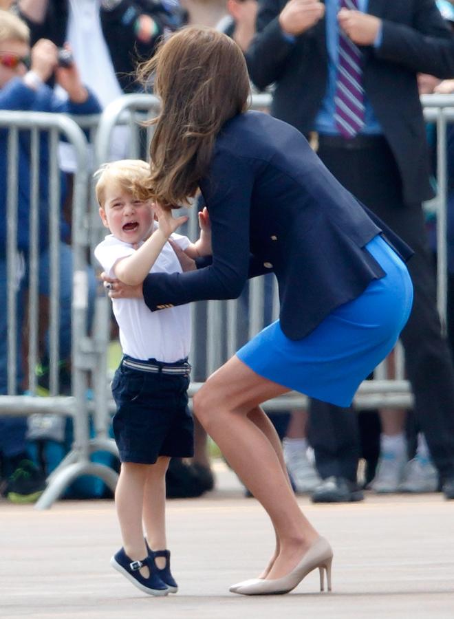 Kate Middleton et Prince George