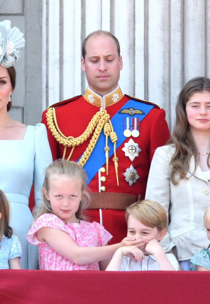 Prince William, Savannah Phillips et Prince George