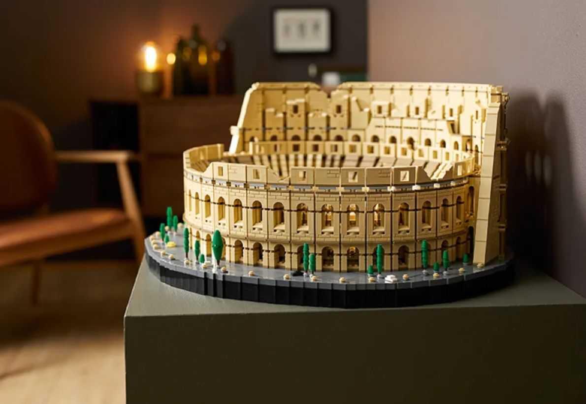 Découvrez L'ultime Lego Colosseum De 9000 Pièces Le Plus