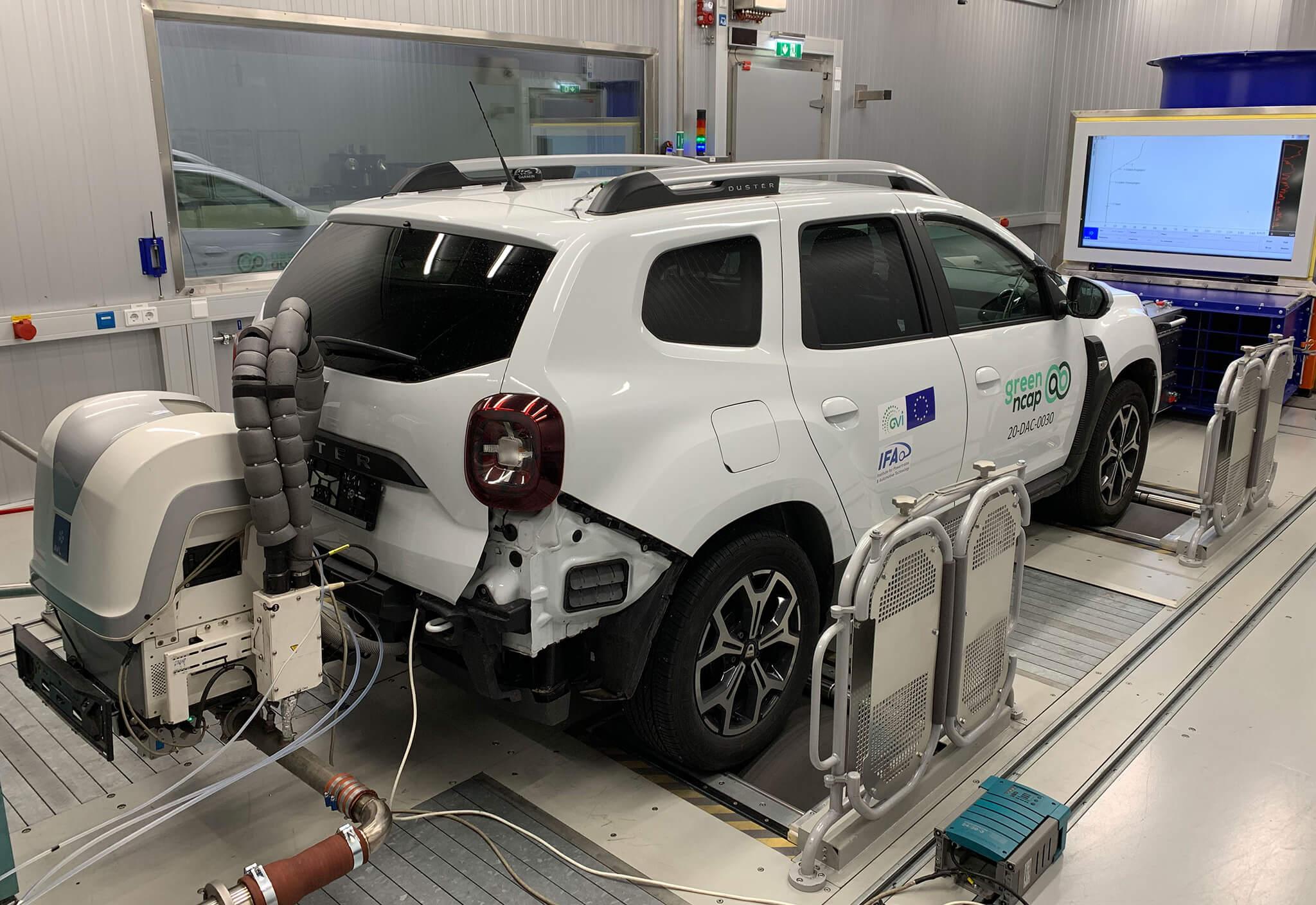 Dacia Duster Vert NCAP