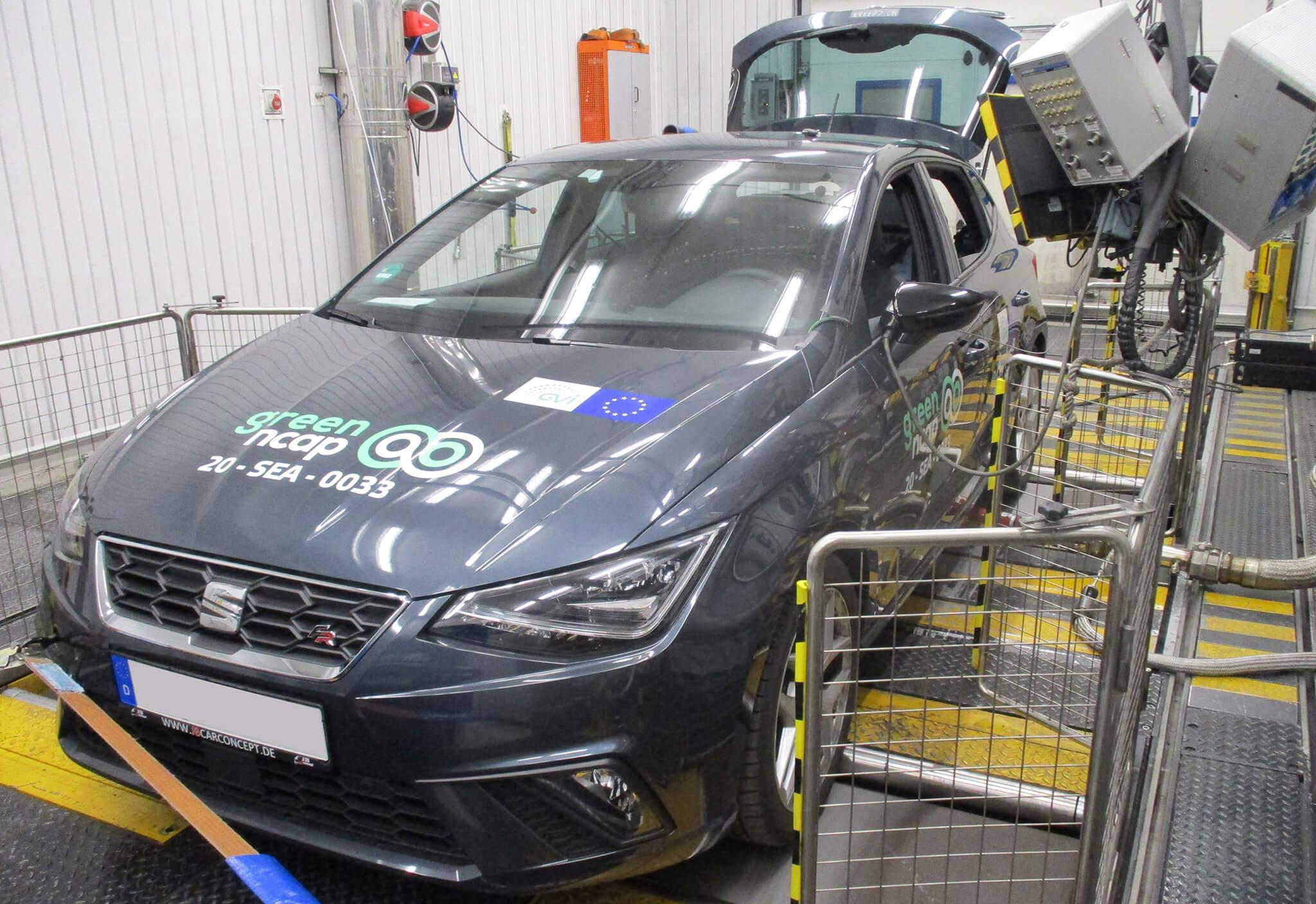 SEAT Ibiza BMW Série 3 Vert NCAP