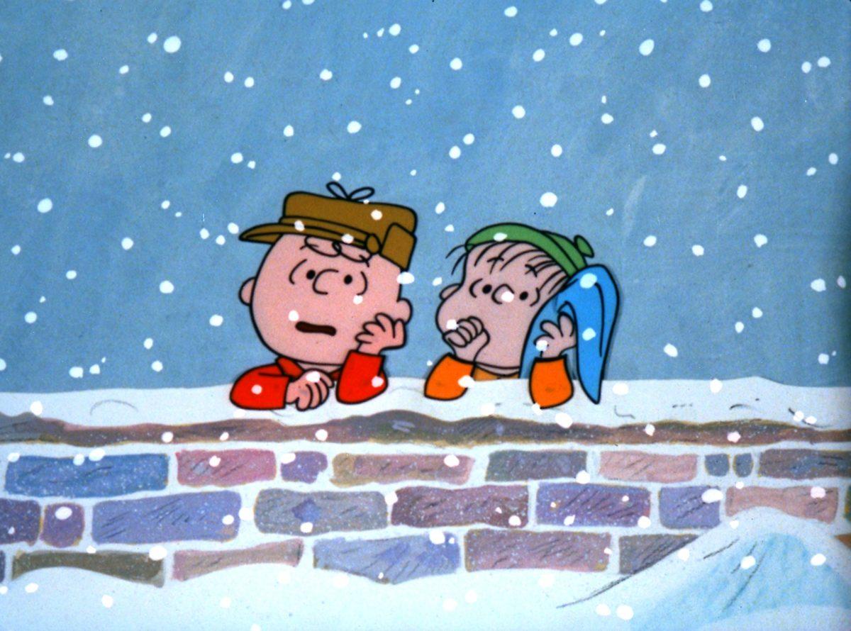 Charlie Brown et Linus parlent