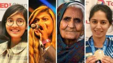 Ridhima Pandey Parmi Quatre Indiennes Dans La Liste Des 100