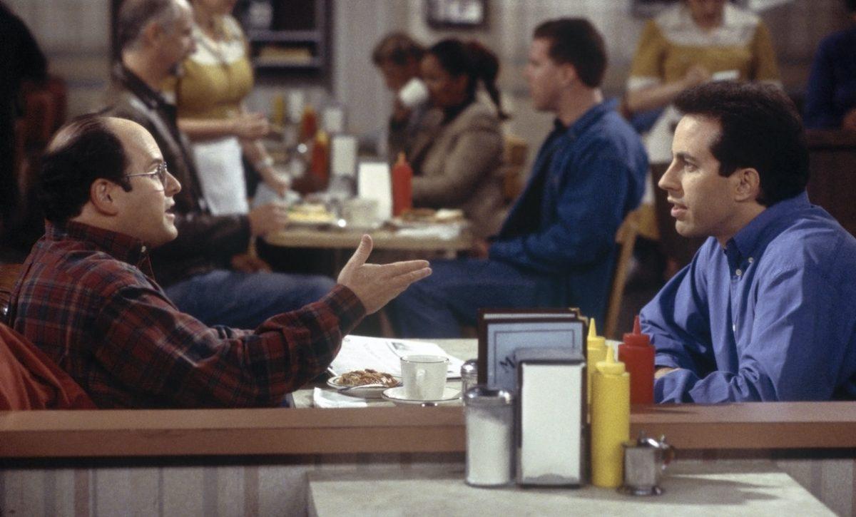 Jason Alexander et Jerry Seinfeld sur 'Seinfeld'