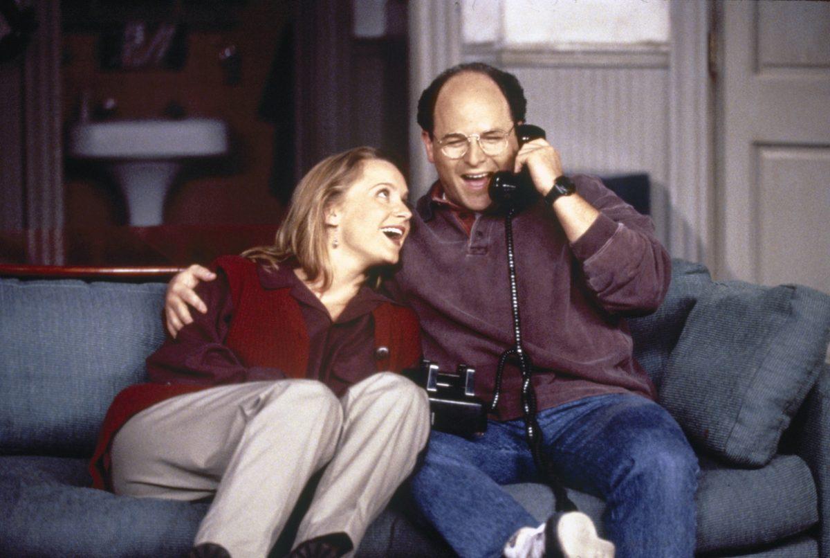 Heidi Swedberg et Jason Alexander sur 'Seinfeld'