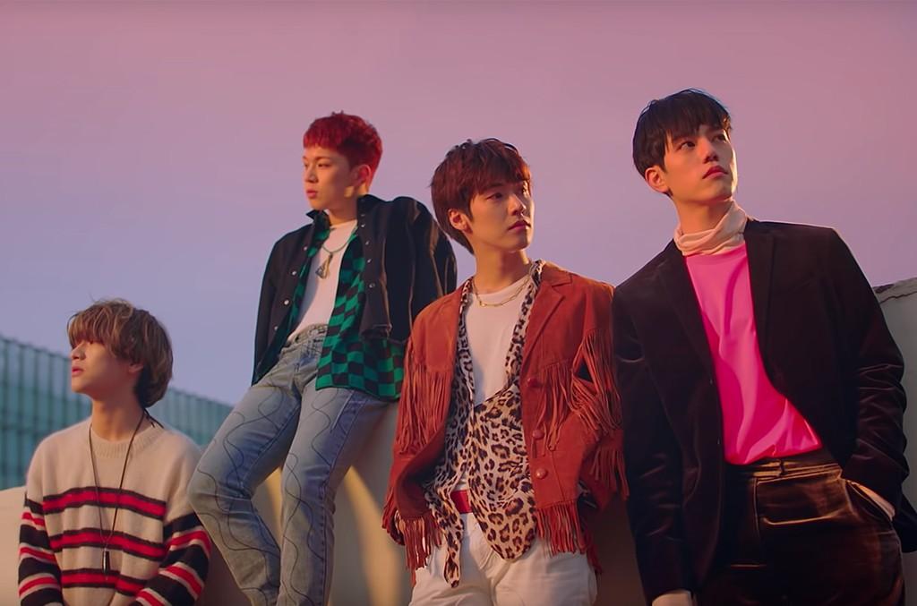 Le groupe K-Pop N.Flying dépasse la controverse grâce à Sleeper Hit «Rooftop»: «Nous sommes extrêmement chanceux»  Panneau d'affichage