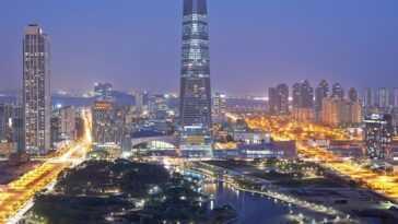 La Corée du Sud a dépensé 35 milliards de dollars pour concevoir une ville qui élimine le besoin de voitures