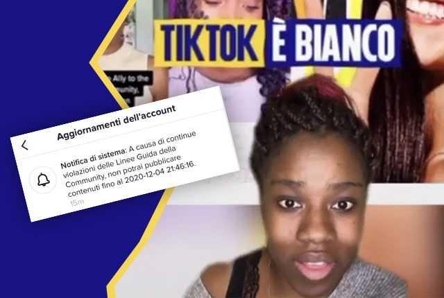 Tiktok A Censuré La Vidéo (et Le Profil) D'une Fille