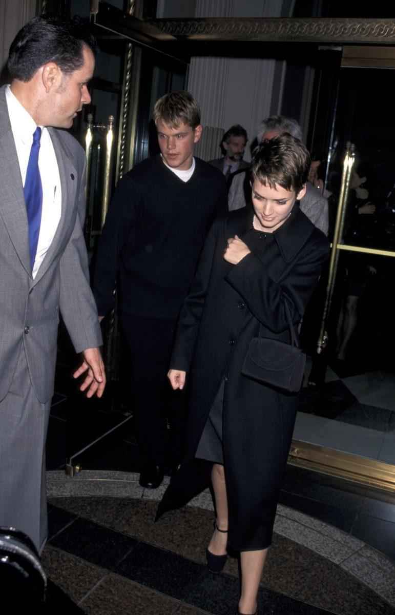 Matt Damon et Winona Ryder