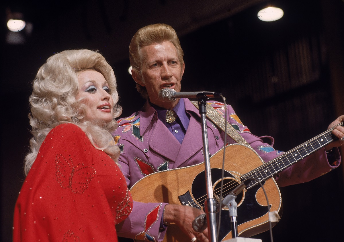 Dolly Parton et Porter Wagoner en 1978