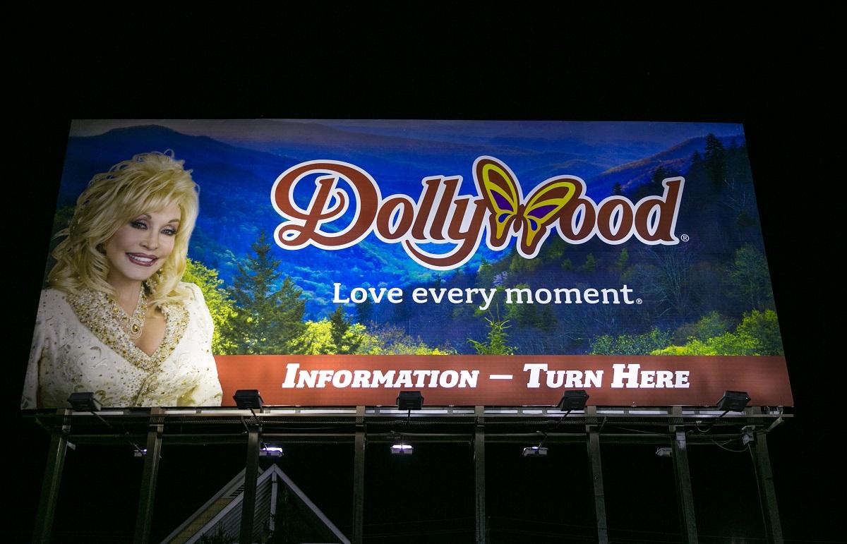 Panneau d'affichage Dollywood