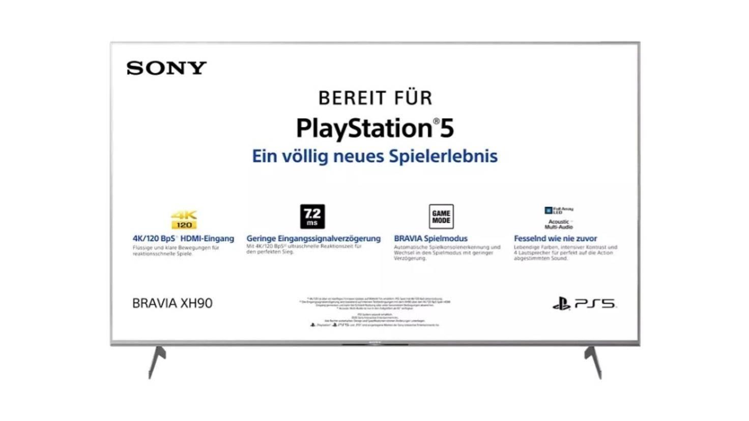 Téléviseur Sony KD-55XH9077