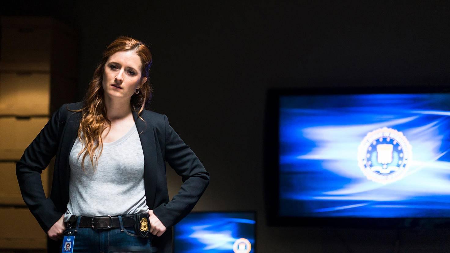"""Grace Gummer comme Dominique """"Dom"""" DiPierro dans Mr. Robot"""