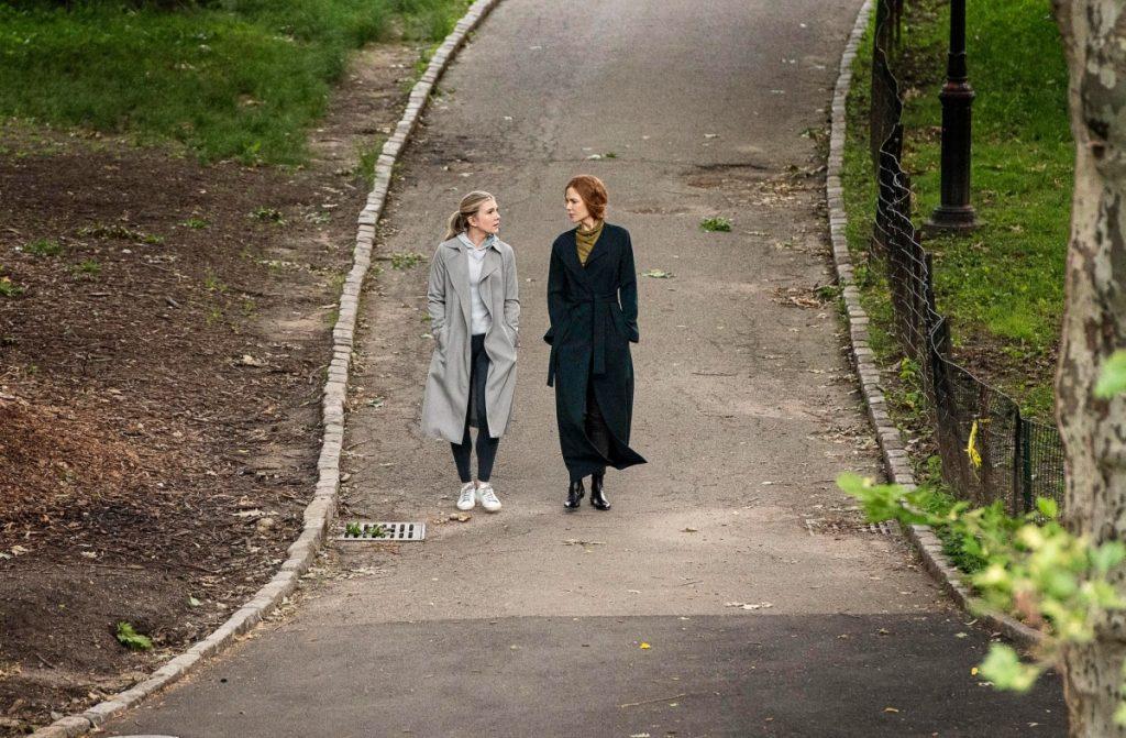 Lily Rabe et Nicole Kidman dans 'The Undoing'