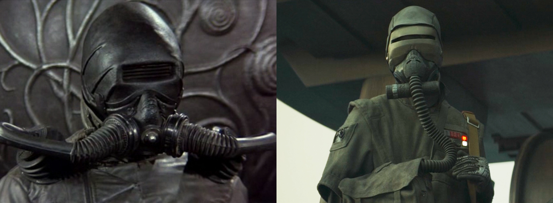 """Les troupes de la ville de Caladan semblent avoir été inspirées par les troupes Harkonnen de 1984 """"Dune"""" film."""