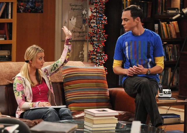 Tout le monde sait ce que Sheldon pense de sa place sur le canapé et personne ne peut s