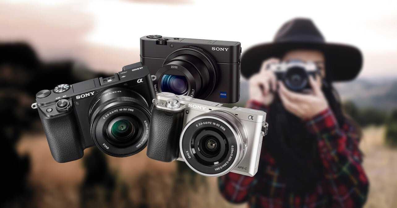 offre de caméras sony