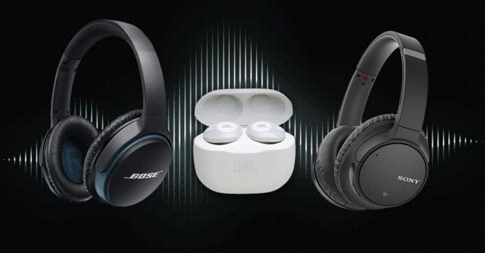 propose des écouteurs de qualité sony, jbl et bose