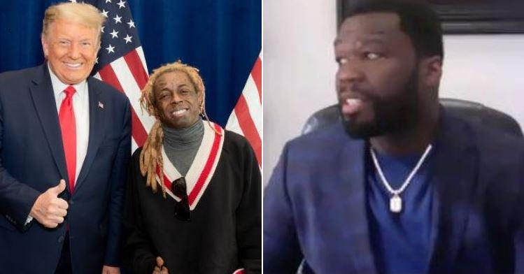 50 Cent Was Offered Seven Figures To Co Sign Donald Trump Says Lil Wayne Got Paid.1605626564.jpg