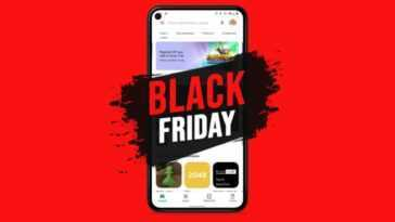Black Friday sur Google Play Store