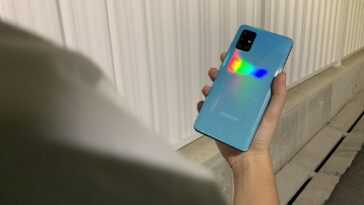 Arrière Samsung Galaxy A51