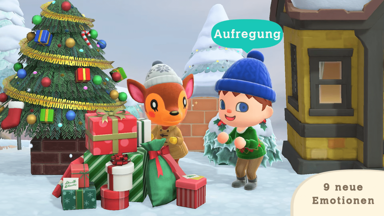 Animal Crossing New Horizons: Winter Update Sort Demain, C'est à