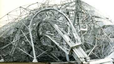 Arecibo N'est Pas Le Premier Radiotélescope à échouer De Manière