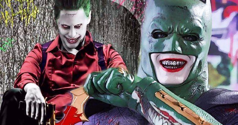 Batman Et Joker Font équipe Dans La Justice League De