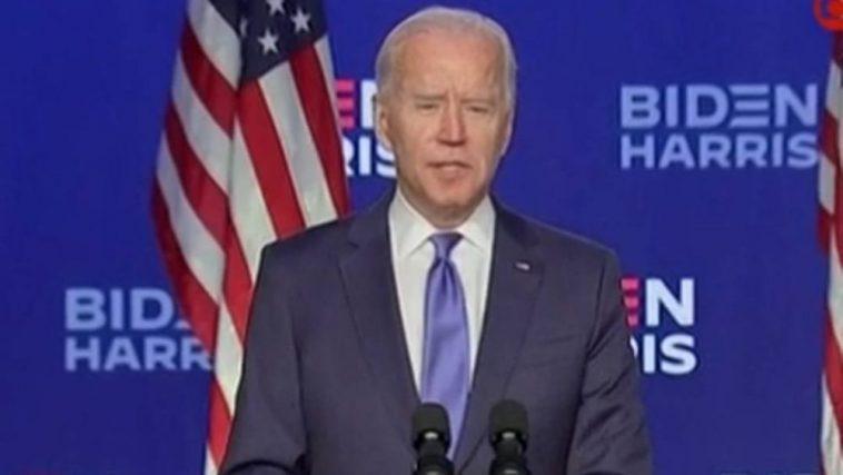 Biden Parle En Tant Qu'élu Et Promet Un Pays Plus