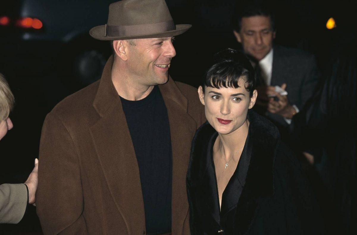 Demi Moore and Bruce Willis attend premiere for