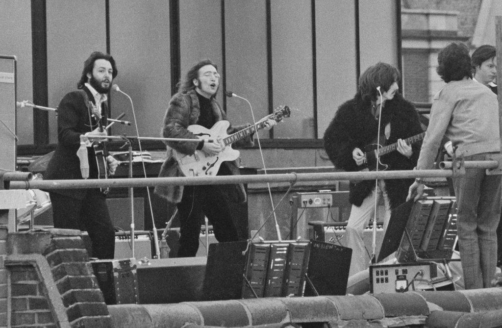 Spectacle final des Beatles