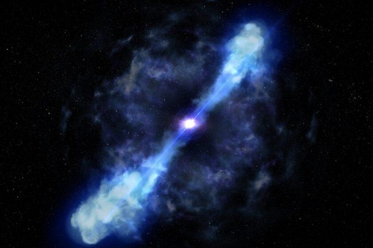 Ces astronomes affirment avoir assisté pour la première fois à la naissance d'un magnétar: la collision de deux étoiles à neutrons