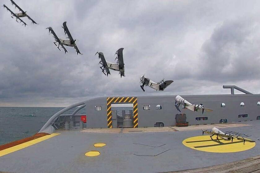 Ces drones parviennent à durer 3,5 heures dans les airs, et ils le font grâce à une batterie à hydrogène