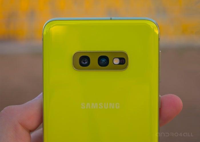Samsung Galaxy S10e, capteurs