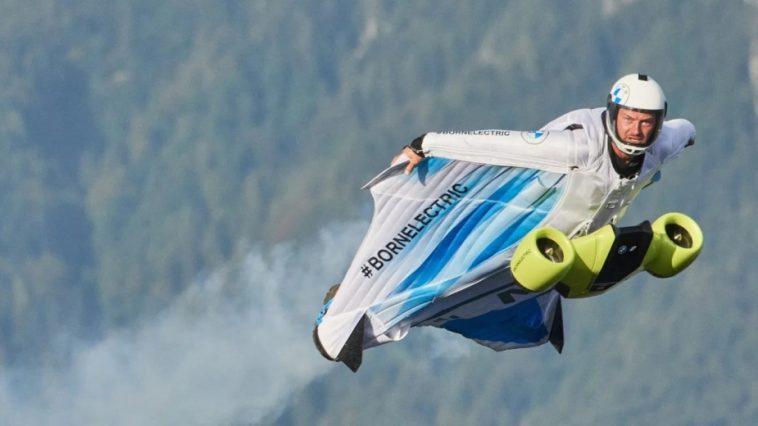 Cette Bmw électrique Peut Voler Au Delà De 300 Km /